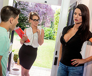 Teaching Your Tutor To Suck Dick - Zoe Doll - Ania Kinski - 1
