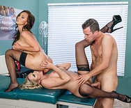 Dick Stuck In Fleshlight - Nikki Benz - Briana Banks - 4
