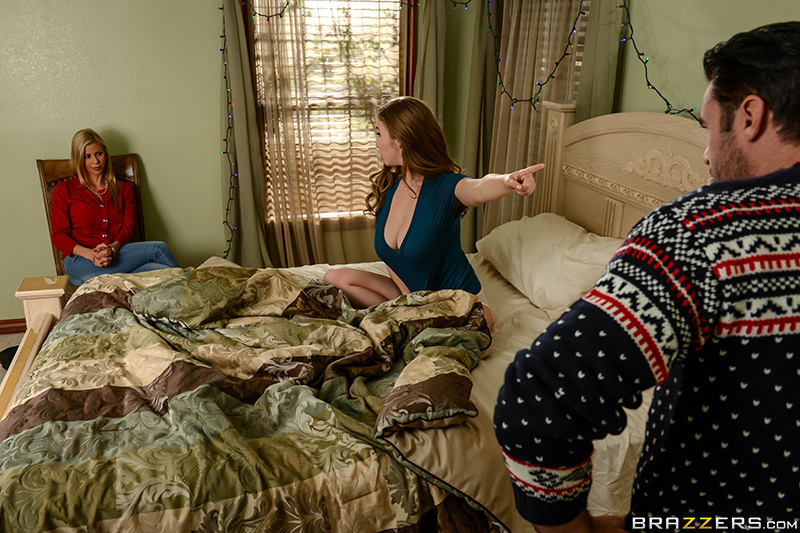 A Brazzers Christmas Special: Part 4 starring Alexis Fawx, Lena ...