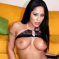 Hot latin chick get pounded.