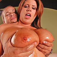 Lisa Sparx Gets Her Gigantic Juggs Fucked and Jizz