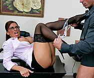 Cheating At Work - Devon Michaels - 2