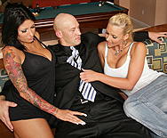 Christian Relieves the Blues! - Phoenix Marie - Ricki Raxxx - 1