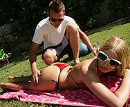 Big bum in the sun - Larin Lane - 1