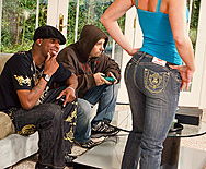 Bubbly Teen Loves The Black Man - Brittany Angel - 1