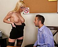 Leggy Blonde - Helena Sweet - 2