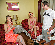 Pre-Party Fucking - Darryl Hanah - Abby Rode - 2