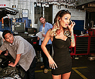Car Shop Cum Shot - Angelina Valentine - 1