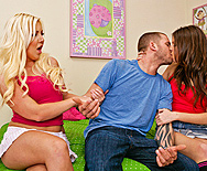 Palavering Pussies Get A Posterior Pounding - Holly Fox - Missy Stone - 1