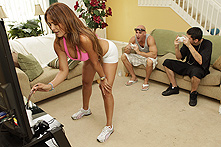 Monique Fuentes in An Intense Yoga Workout  - Picture 1