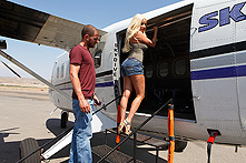 Gina Lynn in Sex on a Plane - Picture 1