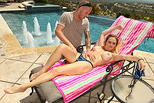 Dyanna Lauren in Fun in the Sun - Picture 1