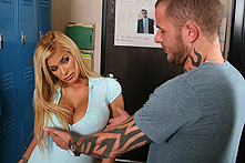 Shyla Stylez in I need a prick me up - Picture 1