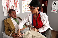 Jessica Jaymes in A Blowjob a day keeps the Doctor Away - Picture 1