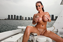 Sophie Dee in Beach, Boat and Big boobs - Picture 1
