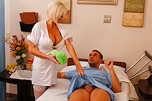 Kasey Grant in Nurse Gets The Full Body Experience - Picture 1
