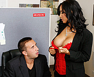 Working Hard In The Cubicle - Isis Love - 1