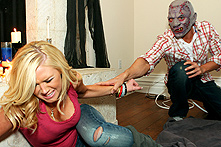 Dylan Riley in Dylan Nailed In Haunted House - Picture 1