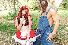 Nikki Rhodes in Little Red Riding Whore - Picture 1