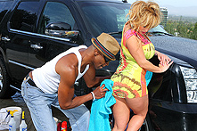Shyla Stylez in Muff Buffer - Picture 1