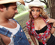 Country Girl Slut! - Melrose Foxxx - 1