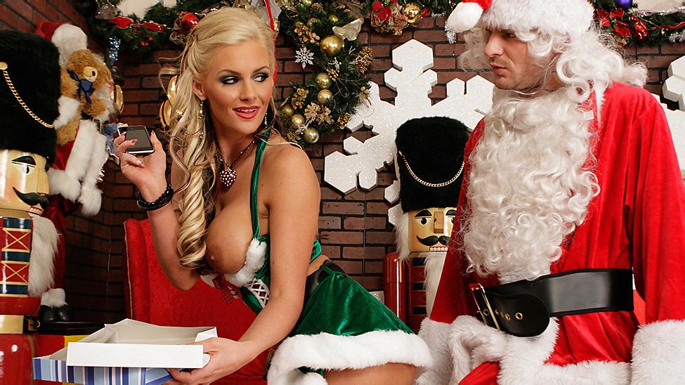 Santa's Busty Helper