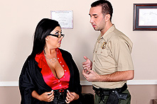 Jaylene Rio in Courthouse Cunt Slam - Picture 1
