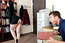 Caroline Pierce in Mom's Boss is a Hot Slut - Picture 1