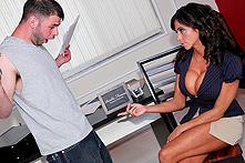 Ariella Ferrera in Casting Call For Cock - Picture 1
