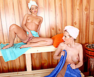 Sauna of Seduction - Aimee Addison - Alyssa Reece - 1