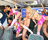 Chesty Cheerleaders Cheat On The Champs - Brooke Banner - Daisy Cruz - Kortney Kane - 5