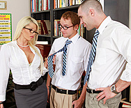 Take Your Big Tits And Shush It - Brooke Haven - 1