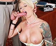 Take Your Big Tits And Shush It - Brooke Haven - 2