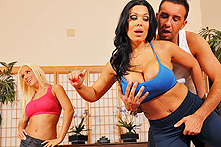 Sienna West in Yoga-tta Big Dick? - Picture 1
