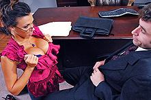 Rachel Starr in Powerless Titties - Picture 1