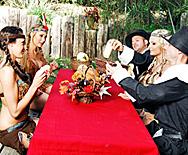 Thanksgiving Lay - Phoenix Marie - Alanah Rae - Breanne Benson - 1