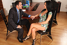 Aletta Ocean in Fuck Or You&#039;re Fired - Picture 1