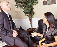 Business Woman Fucks Boss - Isis Love - 1