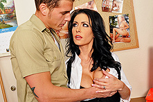 Jessica Jaymes in Jackoff Janitor  - Picture 1