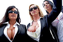 Lisa Ann, Nikki Benz in Reservoir Sluts - Picture 1