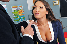 Lizz Tayler in A Rumor That Goes Around, Cums Around...On Your Tits - Picture 1