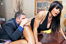 Lisa Ann in Winner Winner, Sex during Dinner - Picture 1