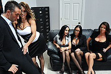 Ava Addams, Francesca Le, Vanilla Deville & Veronica in Office 4-Play - Picture 1