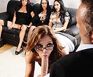 Office 4-Play - Francesca Le - Vanilla Deville - Ava Addams - Veronica Avluv - 2