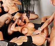 Office 4-Play - Francesca Le - Vanilla Deville - Ava Addams - Veronica Avluv - 3