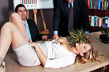 Julia Ann in Office Vibrations - Picture 1