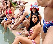 Fucked on the Fourth of July - Audrey Bitoni - 1
