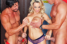 Holly Halston in Fire Dongs - Picture 1