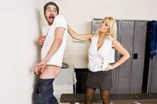 Charlee Chase in Dicky's - Dorky's Revenge - Picture 1