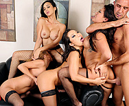 Office 4-Play II: Asian Sensation - London Keyes - Asa Akira - Mia Lelani - Katsuni - 3